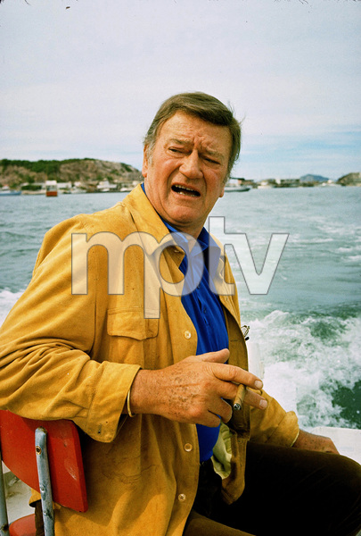 John Wayne, 1971. © 1978 David Sutton - Image 0898_3234