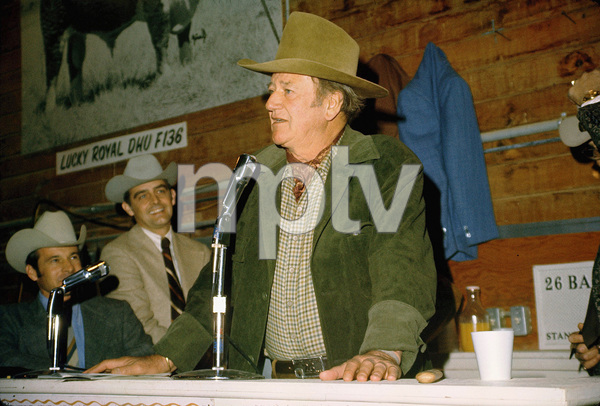 John Wayne, 1973. © 1978 David Sutton - Image 0898_3329