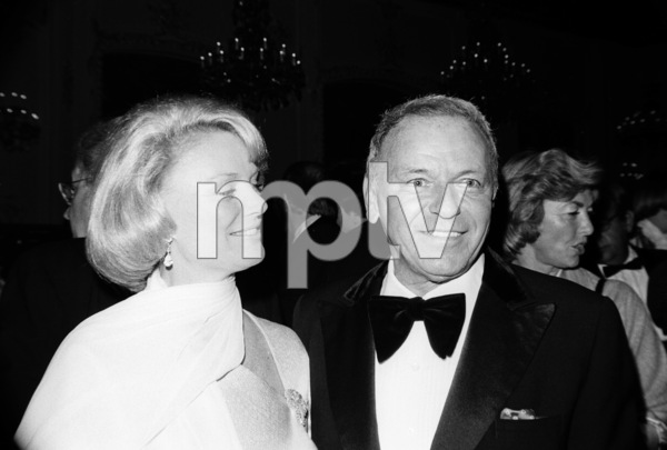 """An All-Star Tribute to John Wayne""Barbara Marx Sinatra, Frank Sinatra1976© 1978 David Sutton - Image 0898_4003"