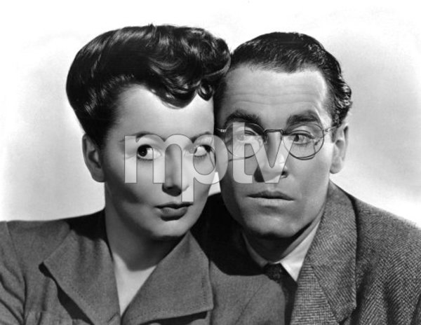 "Olivia de Havilland and Henry Fonda in ""The Male Animal""1942 Warner Brothers - Image 0925_1001"