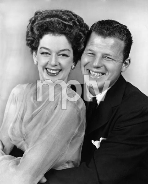 "Rosalind Russell and Jack Carson in ""Roughly Speaking""1945 Warner BrothersPhoto by Longworth - Image 0952_0818"