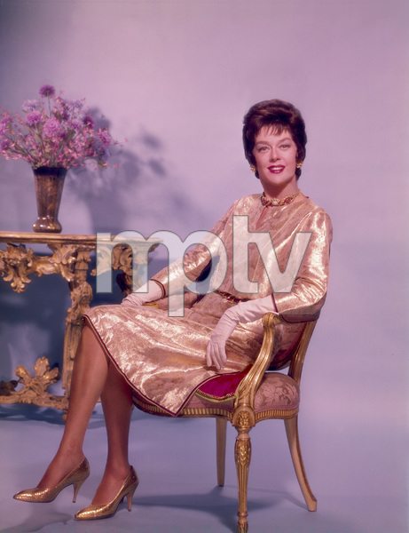 """Rosalind Russell publicity photo for """"Auntie Mame""""1958 Warner Brothers - Image 0952_0875"""