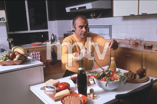 Sean Connery In His Apartment In New York 1975 C 1978 David Sutton