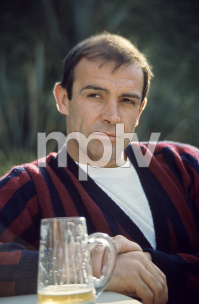 """Sean Connery on the set of """"Marnie""""1964 © 1978 Bob Willoughby - Image 0955_0672"""