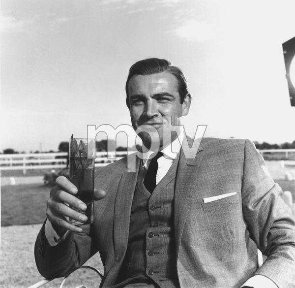 """Sean ConneryAs 007 in """"Goldfinger""""1964 UA **I.V. - Image 0955_0682"""
