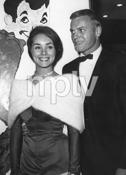 "Tab Hunter and date Vicki Trickett at ""Pepe"" premiere1960Photo by Joe Shere - Image 0961_0817"