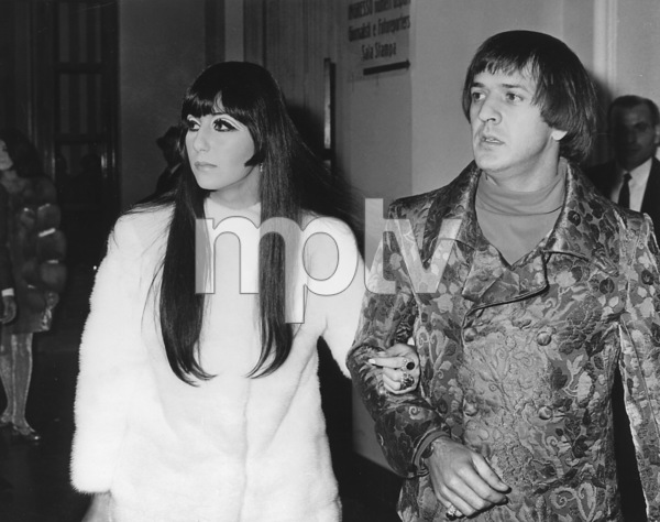 Sonny and CherSan Remo Song FestivalFebruary 1967 - Image 0967_0153