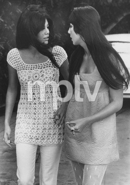 Cher with Tina Sinatra1967 - Image 0967_0189