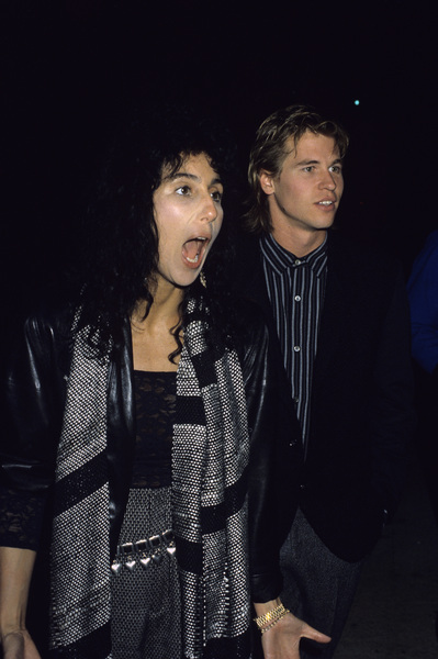 Cher and Val Kilmer1984 © 1984 Gary Lewis - Image 0967_0236