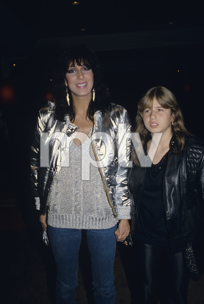 Cher and Chastity Bonocirca 1970s © 1978 Gary Lewis - Image 0967_0247