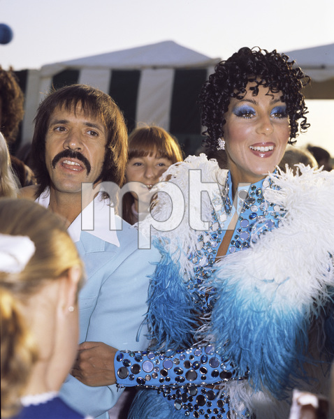 Cher and Sonny Bonocirca 1970s © 1978 Gary Lewis - Image 0967_0267