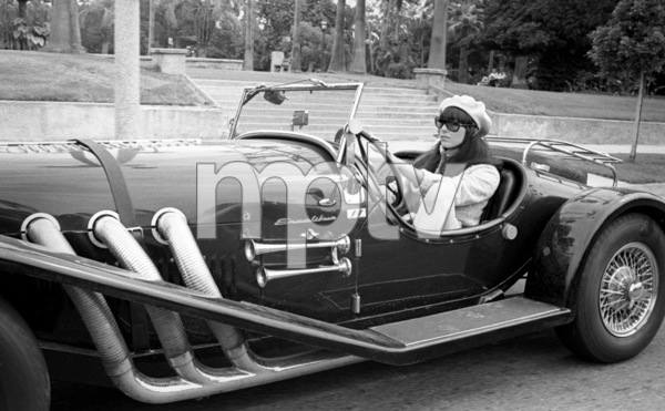 Cher Bono in her Excalibur car in Beverly Hills1967© 1978  Bob Willoughby - Image 0967_0288