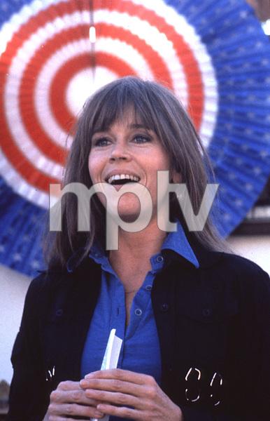 Jane Fonda during Tom Hayden rally1975 © 1978 Ulvis Alberts - Image 0968_1028