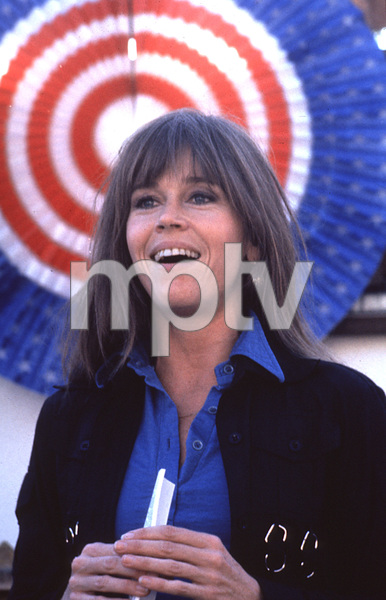Jane Fonda during Tom Hayden rally1975 © 1978 Ulvis Alberts - Image 0968_1028