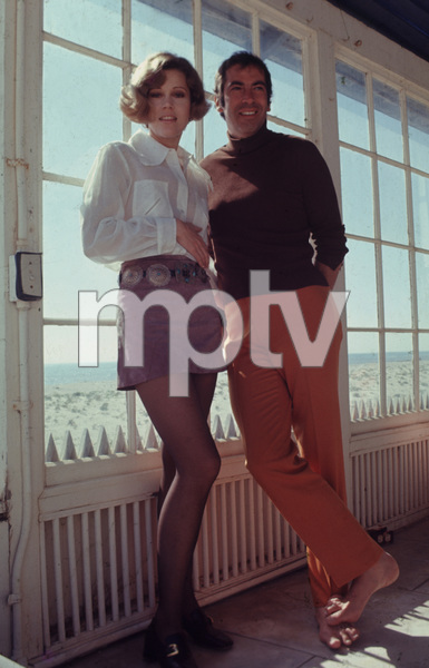 Jane Fonda and Roger Vadim 1969 © 1978 Bruce McBroom - Image 0968_1086