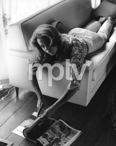 Jane Fonda at home1966 © 1978 Gene Trindl - Image 0968_1100
