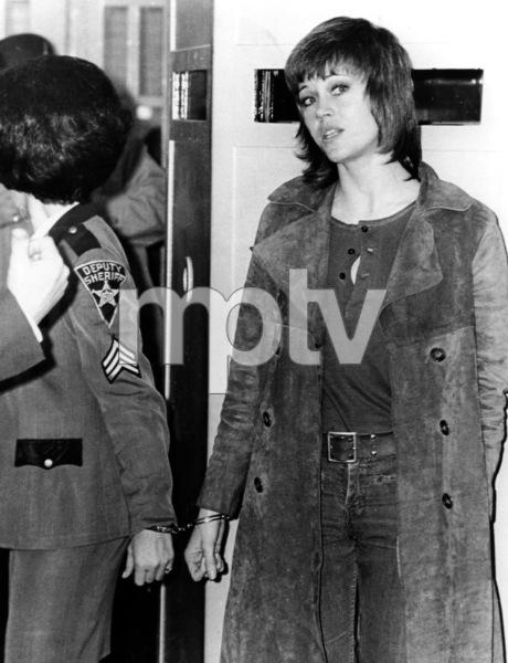 Jane Fonda  in Cleveland Court  November 3, 1970 Photo By UPI Telephoto  **I.V. - Image 0968_1134