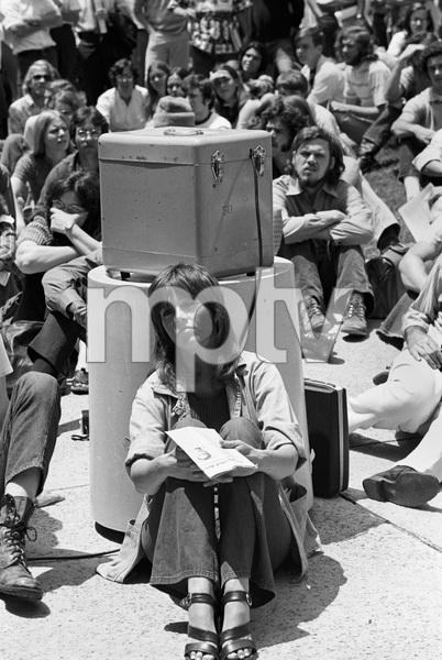 Jane Fonda at an anti-war rallycirca 1973 © 1978 Gunther - Image 0968_1156