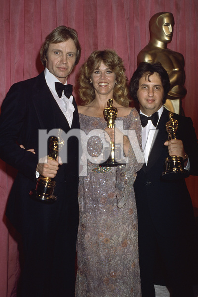 "Jane Fonda, Jon Voight and Michael Cimino at ""The 51st Annual Academy Awards""1979 © 1979 Gary Lewis - Image 0968_1174"