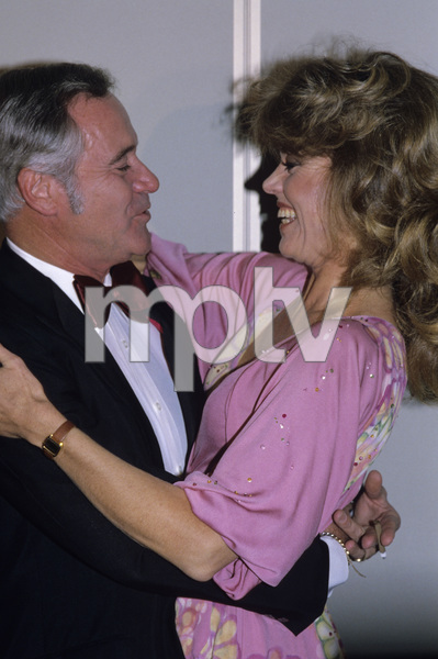 Jane Fonda and Jack Lemmoncirca 1980s © 1980 Gary Lewis - Image 0968_1184