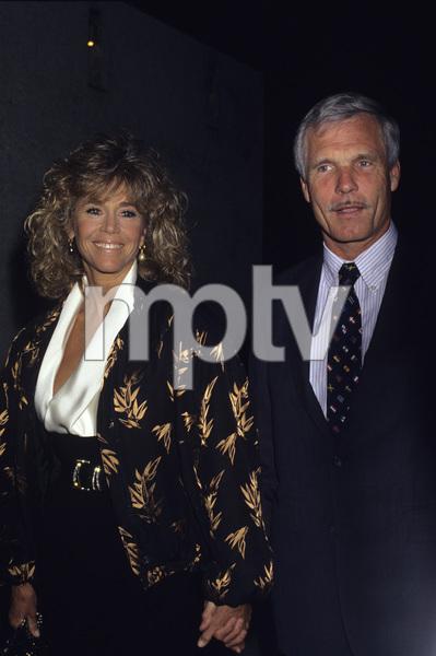Jane Fonda and Ted Turner1990 © 1990 Gary Lewis - Image 0968_1187