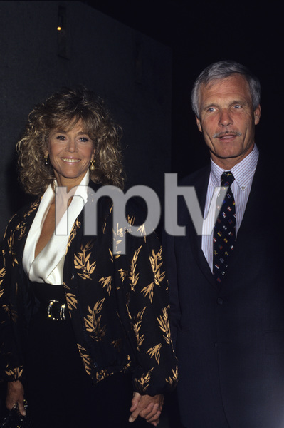 Jane Fonda and Ted Turner1990 © 1990 Gary Lewis - Image 0968_1187