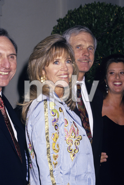 Jane Fonda and Ted Turnercirca 1990s © 1990 Gary Lewis - Image 0968_1197