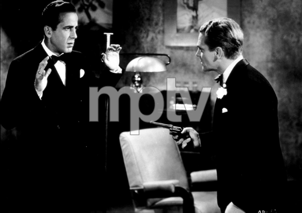 "James Cagney and Humphrey Bogart in ""The Roaring Twenties,"" 1939 Warner Bros.MPTV - Image 0969_0018"