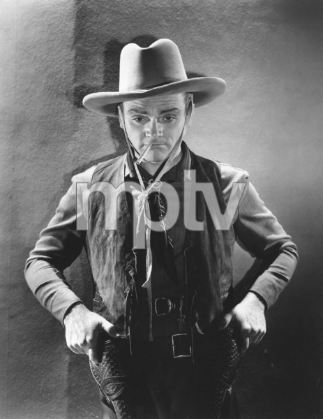 """James Cagney in """"Oklahoma Kid, The""""1939 Warner Bros.Photo by George Hurrell **I.V. - Image 0969_0857"""