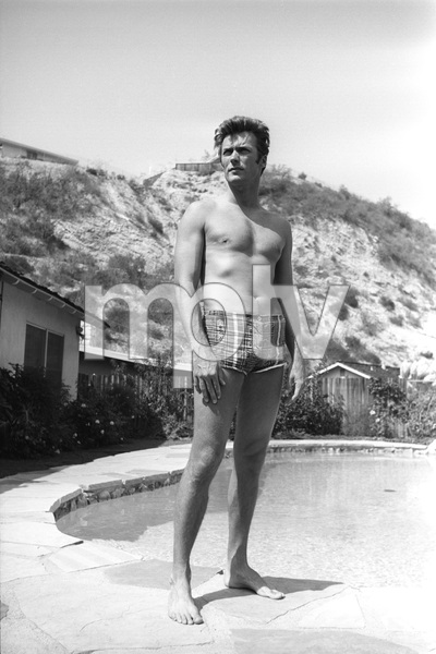 Clint Eastwood at home1961 © 2005 Michael Levin - Image 0973_0825