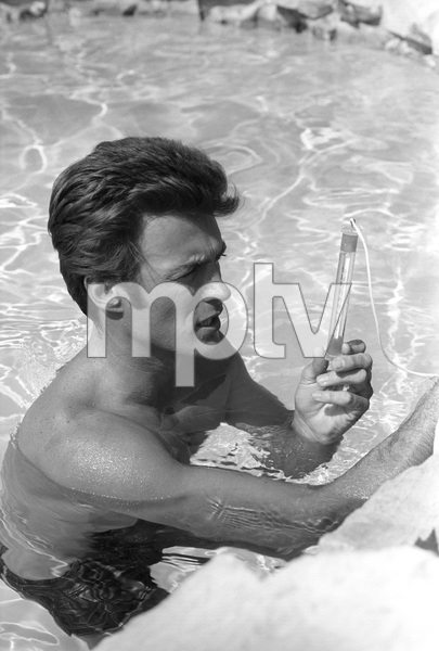 Clint Eastwood at home1961 © 2005 Michael Levin - Image 0973_0841