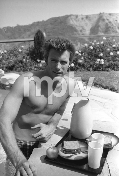 Clint Eastwood at home1961 © 2005 Michael Levin - Image 0973_0848