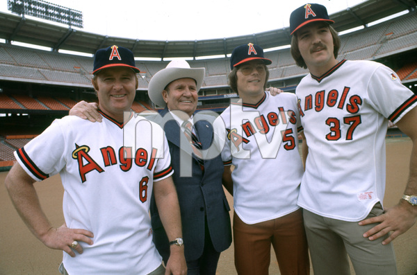 Gene Autry at Angel Stadium in Anaheim, California1978 © 1978 Gunther - Image 0987_1010