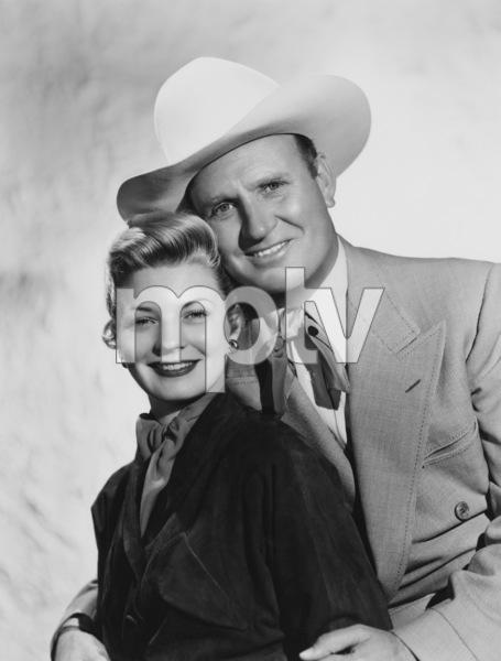 Gene Autry and Gail Davis1952Photo by Gabi Rona - Image 0987_1024