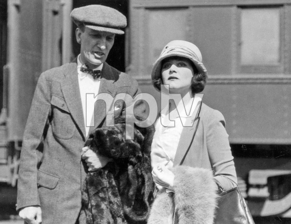 Film Director Charles Brabin and wife Theda Bara reunite in Los Angeles after a long separation, 1923, I.V. - Image 0989_3005