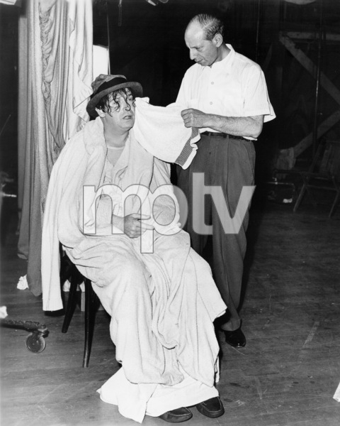 """Milton Berle on the set of""""Always Leave Them Laughing."""" © 1949 Warner - Image 0996_0003"""