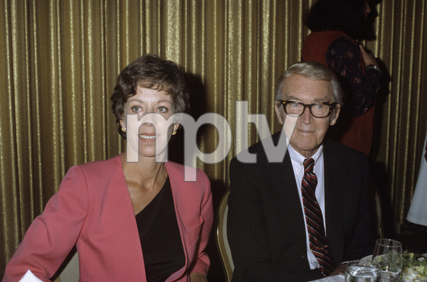 Carol Burnett and James Stewartcirca 1980s© 1980 Gary Lewis - Image 1000_0184
