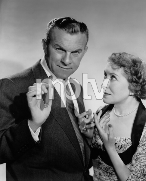 George Burns and Gracie Allen, c. 1956. © 1978 Wallace Seawell - Image 1001_0626