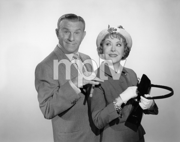 George Burns and Gracie Allen,c. 1956. © 1978 Wallace Seawell - Image 1001_0635