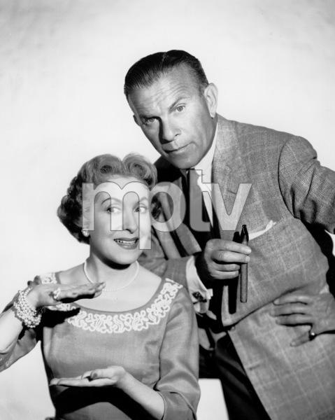 George Burns and Gracie Allen,c. 1955/CBSPhoto by Gabi Rona - Image 1001_0649
