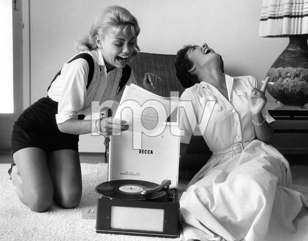 Dyan Cannon and Andra Martin1958 © 1978 Lou Jacobs Jr. - Image 1002_0006