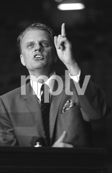 Billy Graham / January 29, 1967Photo by Clayton Bud Gray - Image 10061_0006