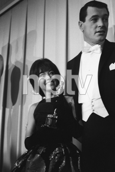 """The 34th Annual Academy Awards""Rita Moreno, Rock Hudson1962© 1978 David Sutton - Image 10161_0004"