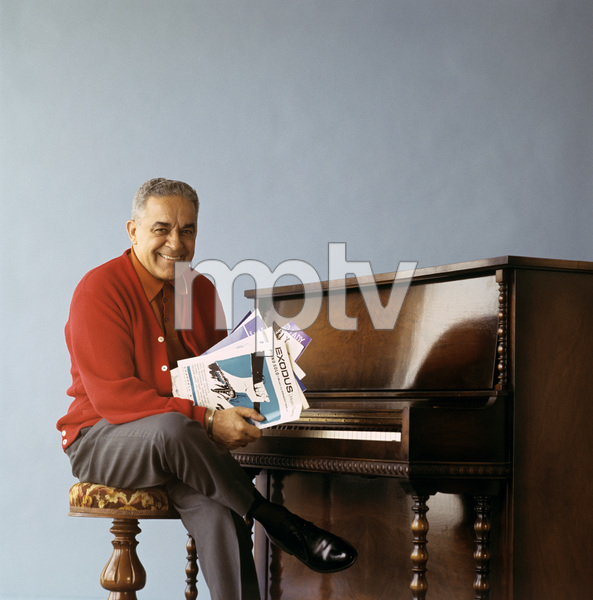"""Frankie Carle during an album cover photo session for """"Frankie Carle Plays the Great Piano Hits""""1963© 1978 Ken Whitmore - Image 10268_0003"""