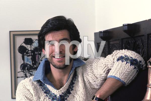 Pierce Brosnan at home1984 © 1984 Gene Trindl - Image 10412_0007
