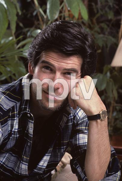 Pierce Brosnan at home1984 © 1984 Gene Trindl - Image 10412_0009