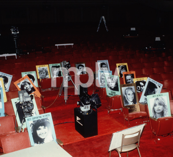 """""""Academy Awards - 53rd Annual""""Rehearsal1981 © 1981 Gunther - Image 10548_0083"""