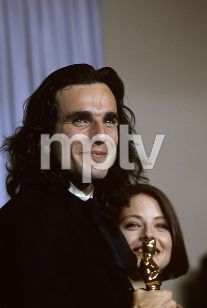 """""""The 62nd Annual Academy Awards""""Daniel Day-Lewis, Jodie Foster1990 © 1990 Gunther - Image 10550_0005"""