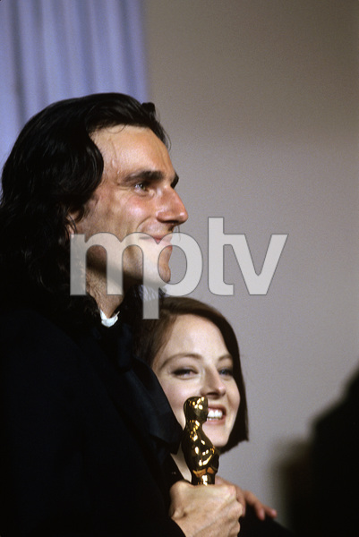 """The 62nd Annual Academy Awards""Daniel Day-Lewis, Jodie Foster1990 © 1990 Gunther - Image 10550_0006"