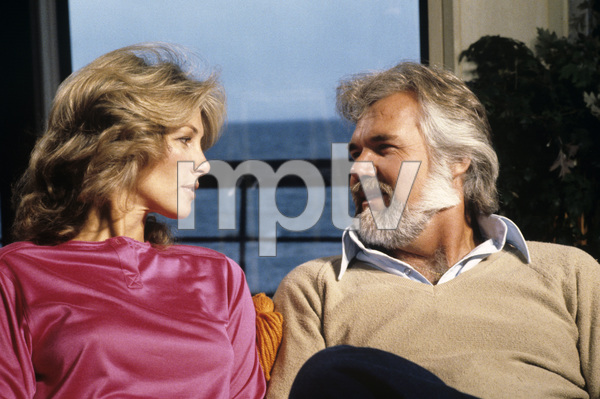 Kenny Rogers and and his wife, Marianne Gordoncirca 1980s** H.L. - Image 10575_0052